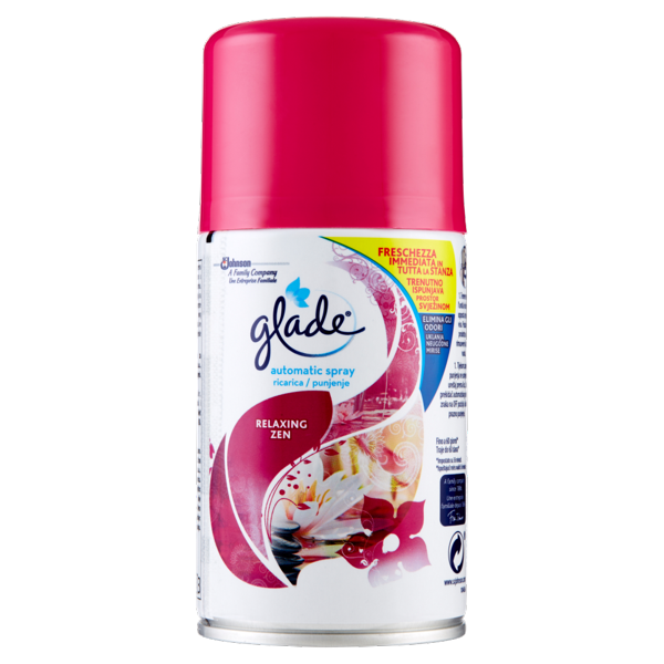 Image of Glade automatic spray ricarica Relaxing Zen 269 ml 1508352
