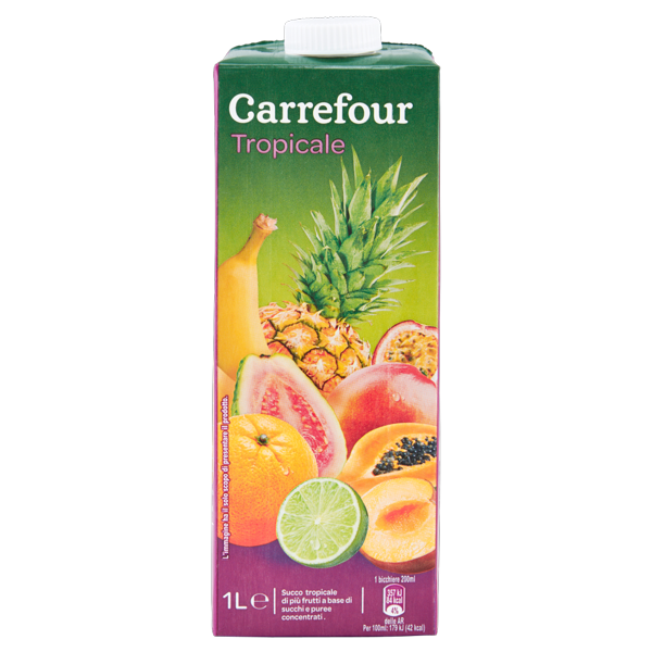 Image of Carrefour Tropicale 1 L 793504