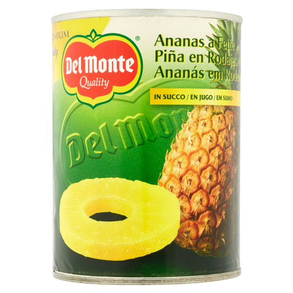 Image of Del Monte Ananas a fette in succo 565 g 100979