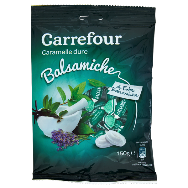 Image of Carrefour Balsamiche alle erbe balsamiche caramelle dure 150 g 1090430