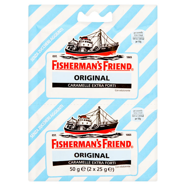 Image of Fisherman's Friend Original caramelle extra forti 2 x 25 g 5468