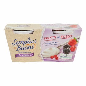 2 YOGURT MAGRO FRAGOLE DI BOSCO