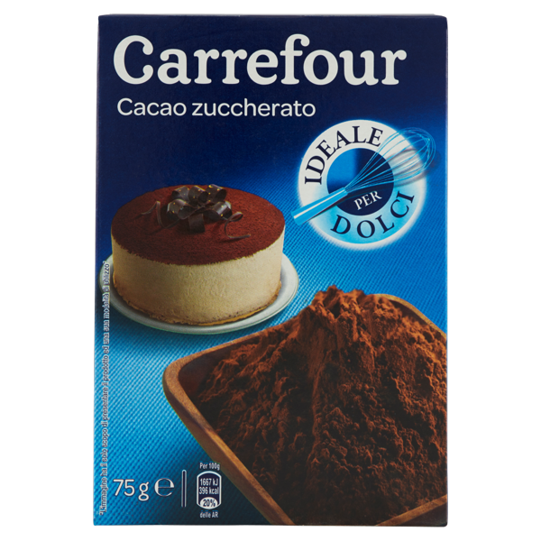 Image of Carrefour Cacao zuccherato 75 g 1096160