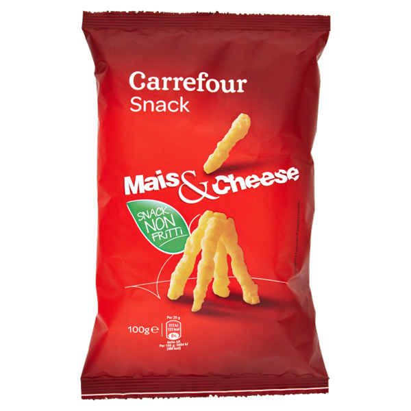 Image of Carrefour Snack Mais & Cheese 100 g 1158554