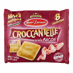 CROCCANTELLE GUSTO BACON MULTIPACK