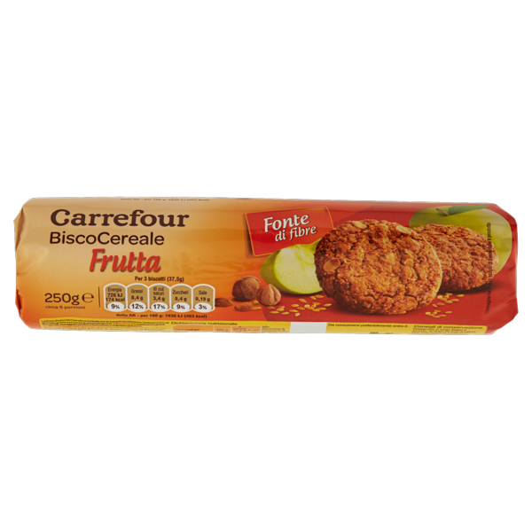 Image of Carrefour BiscoCereale Frutta 250 g 1102171