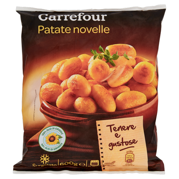 Image of Carrefour Patate novelle Surgelate 600 g 1320301
