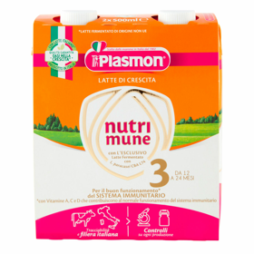 LATTE PLASMON STAGE 3 LIQUIDO 2X500ML