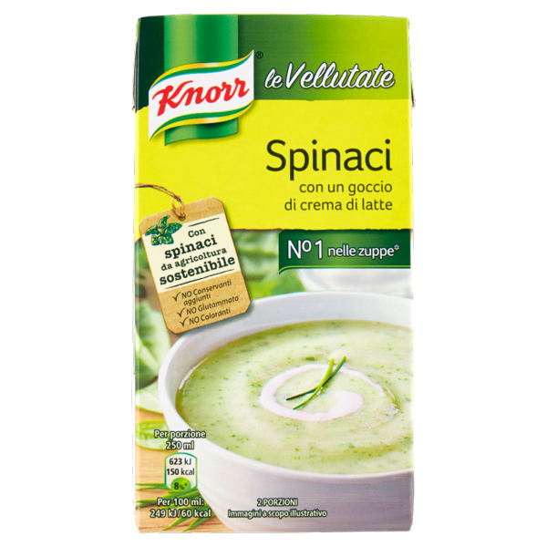 Image of Knorr le Vellutate Spinaci 500 ml 1239538