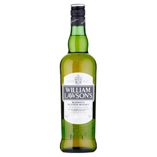 Image of William Lawson's Blended scotch whisky 70 cl 117030