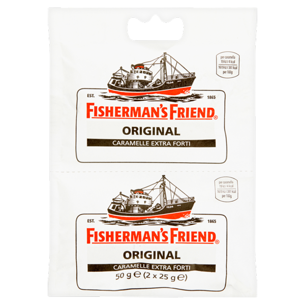 Image of Fisherman's Friend Original caramelle extra forti 2 x 25 g 98552
