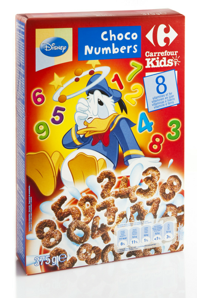 Image of Choco Numbers Carrefour 1409969