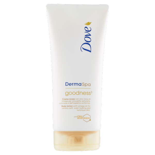 Image of Dove Derma Spa goodness³ Body lotion 200 ml 1585430