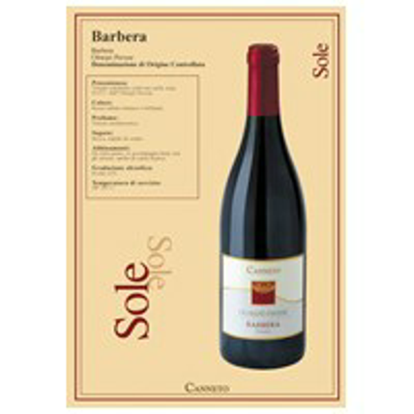 Image of Barbera Oltrepo pavese Doc Canneto 13264