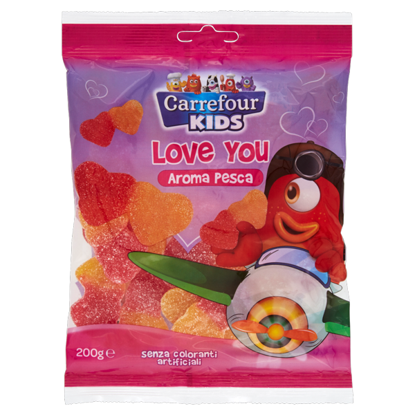 Image of Carrefour Kids Love You aroma pesca 200 g 1138023