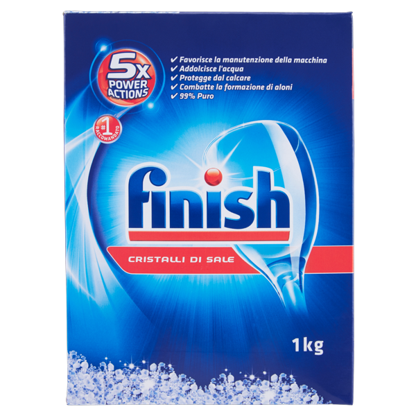 Image of Finish Cristalli di sale 5X Power Actions 1 kg 8681