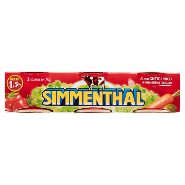 Image of Simmenthal 3 x 70 g 1380