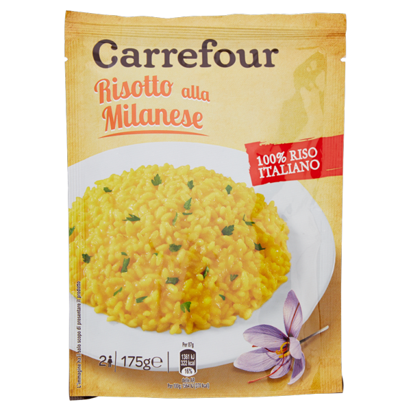 Image of Carrefour Risotto alla Milanese 175 g 880051