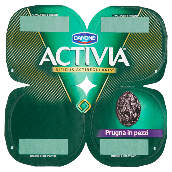 Image of Activia Prugna in pezzi 4 x 125 g 1214086
