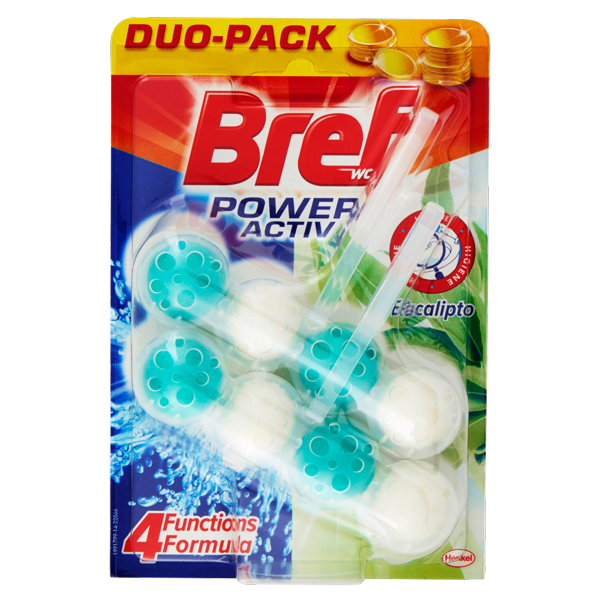 Image of BREF Wc Power Activ Eucalipto Duo Pack 50 gr. 1463987