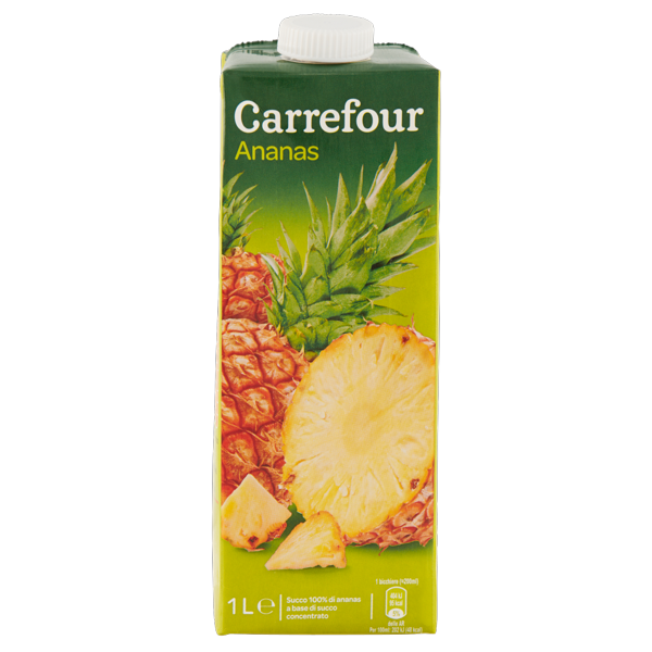Image of Carrefour Ananas 1 L 793465