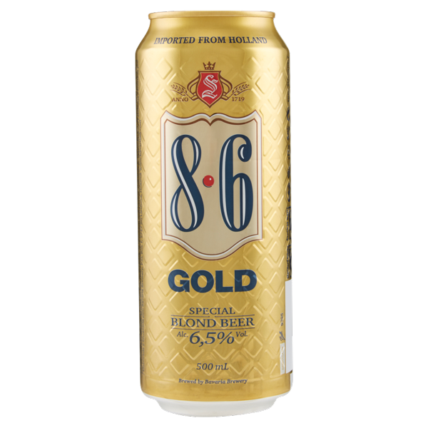 Image of 8.6 Gold 500 mL 1418517