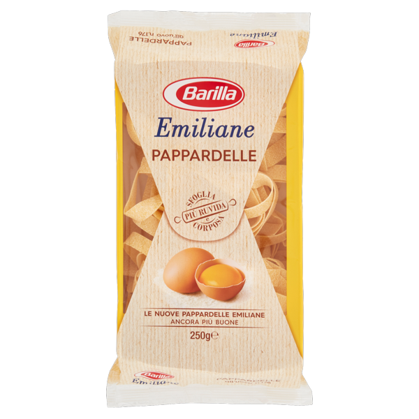 Image of Barilla Emiliane Pappardelle all'uovo n.176 250 g 104349