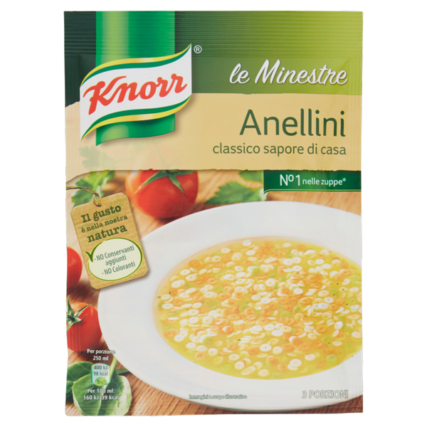 Image of Knorr le Minestre Anellini 82 g 104821