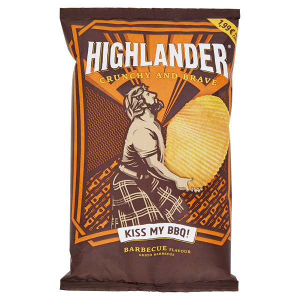 Image of Highlander Kiss My BBQ! Gusto Barbecue 130 g 1558475