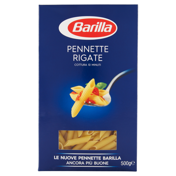 Image of Barilla Pennette Rigate n.72 500 g 1810