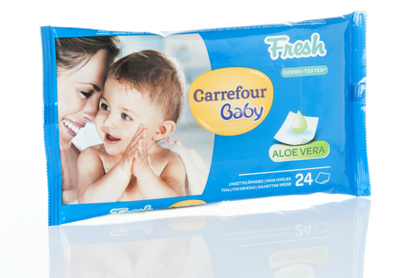 Image of Salviette Classic X24 Carrefour Baby 1209107