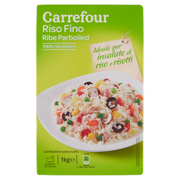 Image of Carrefour Riso Fino Ribe Parboiled 1 kg 1600987