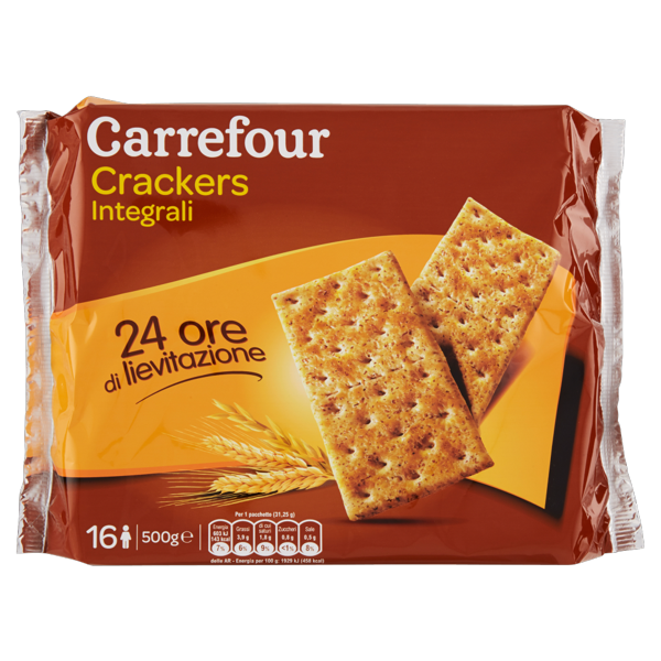 Image of Carrefour Crackers Integrali 500 g 1544147