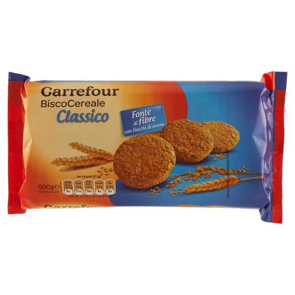 Image of Carrefour BiscoCereale Classico 500 g 799266