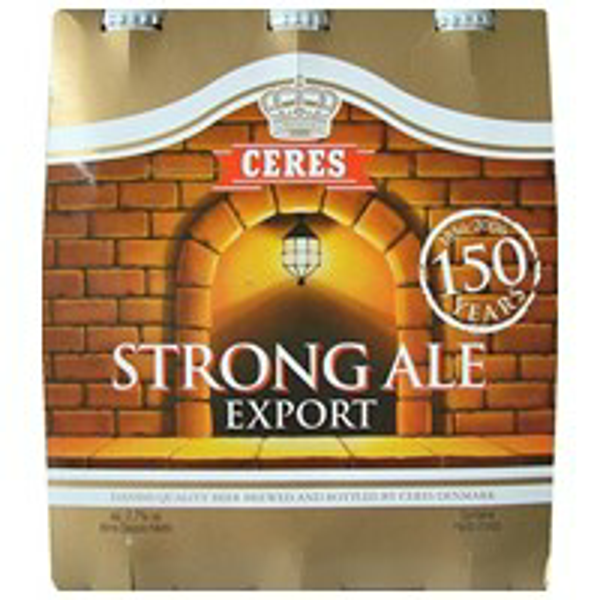 Image of Birra Ceres Strong Ale cl 33x3 1116522