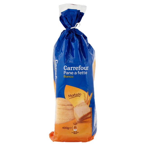 Image of Carrefour Pane a fette Bianco 400 g 1329616