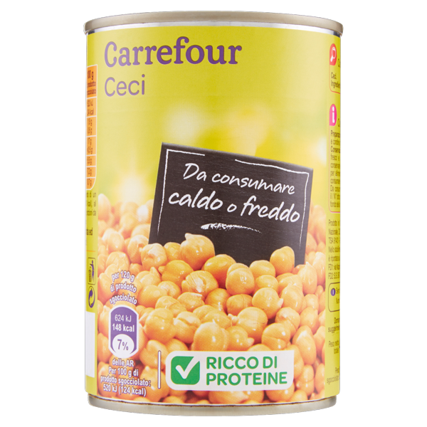 Image of Carrefour Ceci 400 g 1293573