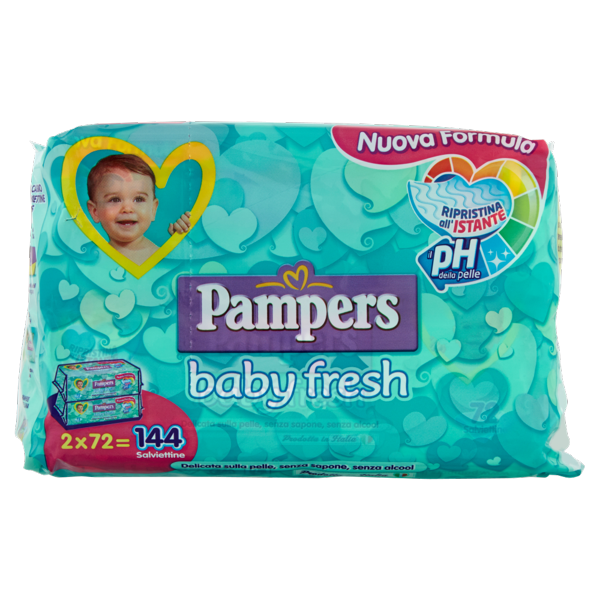 Image of Pampers baby fresh Nuova Lozione x144 794747