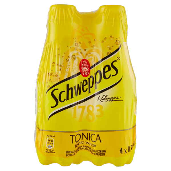 Image of Schweppes Tonica 4 x 0,25 L 1285271