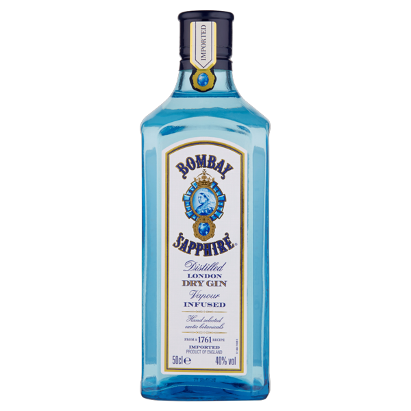 Image of Bombay Sapphire Distilled London Dry Gin 50 cl 1425284
