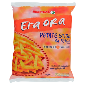 Despar Era Ora Patate Stick da Forno Surgelate 1 kg