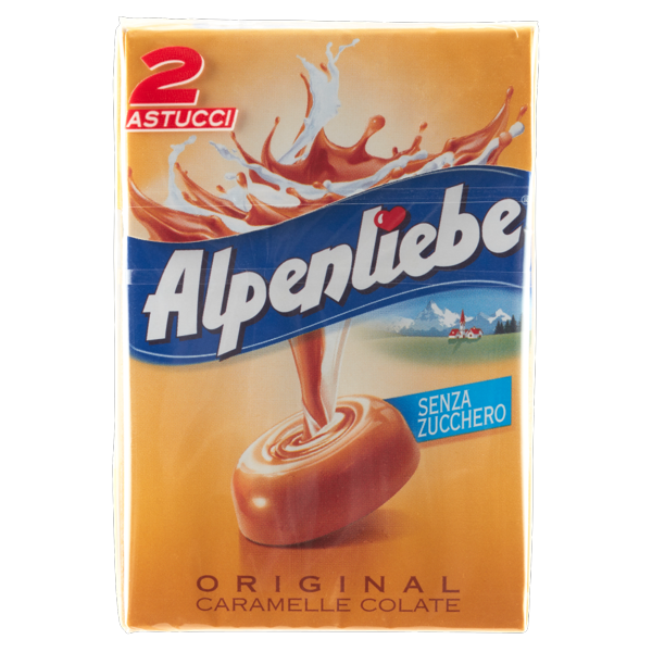 Image of Alpenliebe Original caramelle colate 2 x 49 g 1329877
