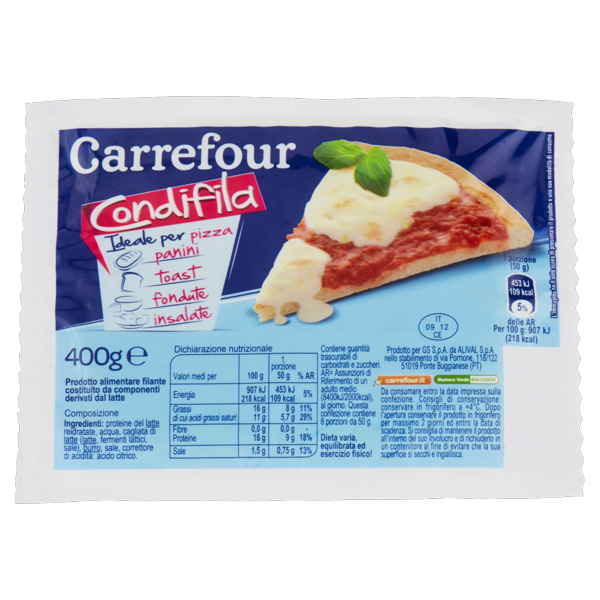 Image of Carrefour Condifila 400 g 1094668
